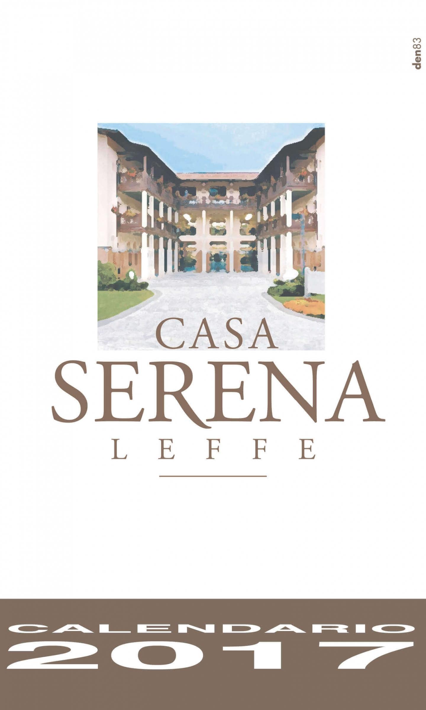 Calendario Casa Serena Leffe